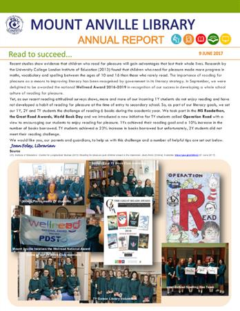 Librarian's Report