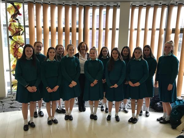 4th Year Students Commended for Their Results in Business Studies at Junior Certificate