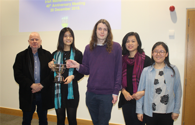 Antonia Huang Awarded Prestigious Fergus Gaines Cup
