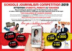 Schools Journalism Competition 2019