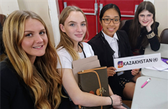 Mount Anville Students attend Terenure College Model United Nations