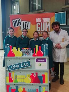 First Year Environmental workshop -Bin It!