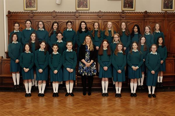1st Year Choir