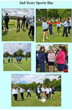 Sports Day for 1st & 2nd Years