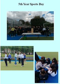 Sports Day for 5th Years