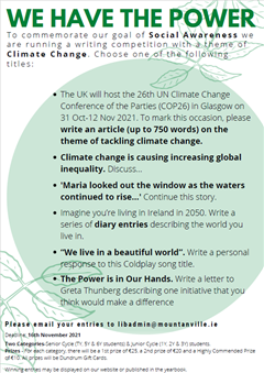 Autumn Writing Competition 2021